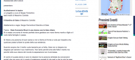 Autorevole. Il Giardino di Gaia di Massimo Carlotto e Sergio Ferrentino a Sassari   SardegnaEventi24.it   Quotidiano di Eventi  Notizie e Turismo in Sardegna.