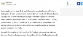 Audiodrammi in teatro   Radiogiallo  di Carlo Lucarelli a Lugo Eventi a Ravenna