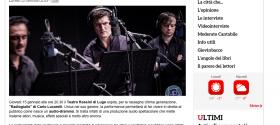 RavennaDal Radiodramma all audiodramma  Radiogiallo di Carlo Lucarelli al Teatro Rossini di Lugo